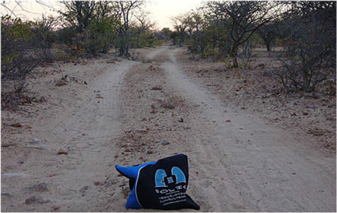 Bag 4x4-ing towards Van Zyl's Pass in northern Namibia, June 2013.