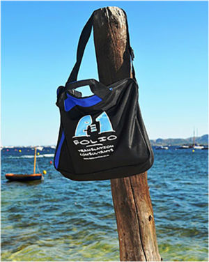 Bag hanging out in Port de Pollenca,  Majorca,  July 2014.