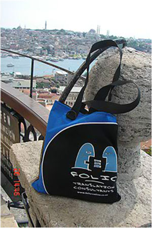 A vertigo-defying Bag admiring the view from Galata Tower, Istanbul, Turkey, June 2012