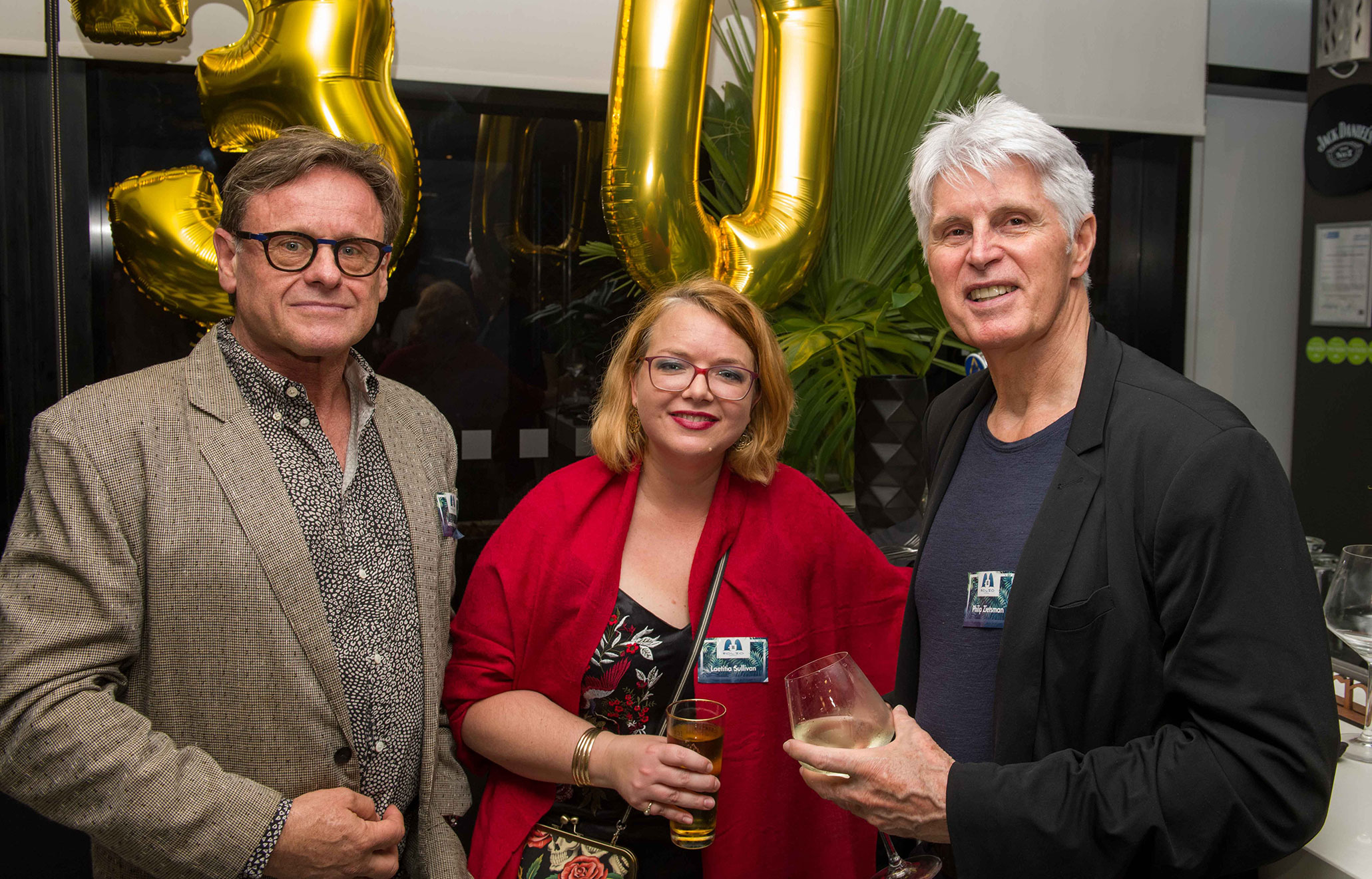 Celebrating Folio's 30th anniversary with staff, freelancers, service providers and friends at The Ghibli Pool Bar & Lounge on 1 December 2018.
