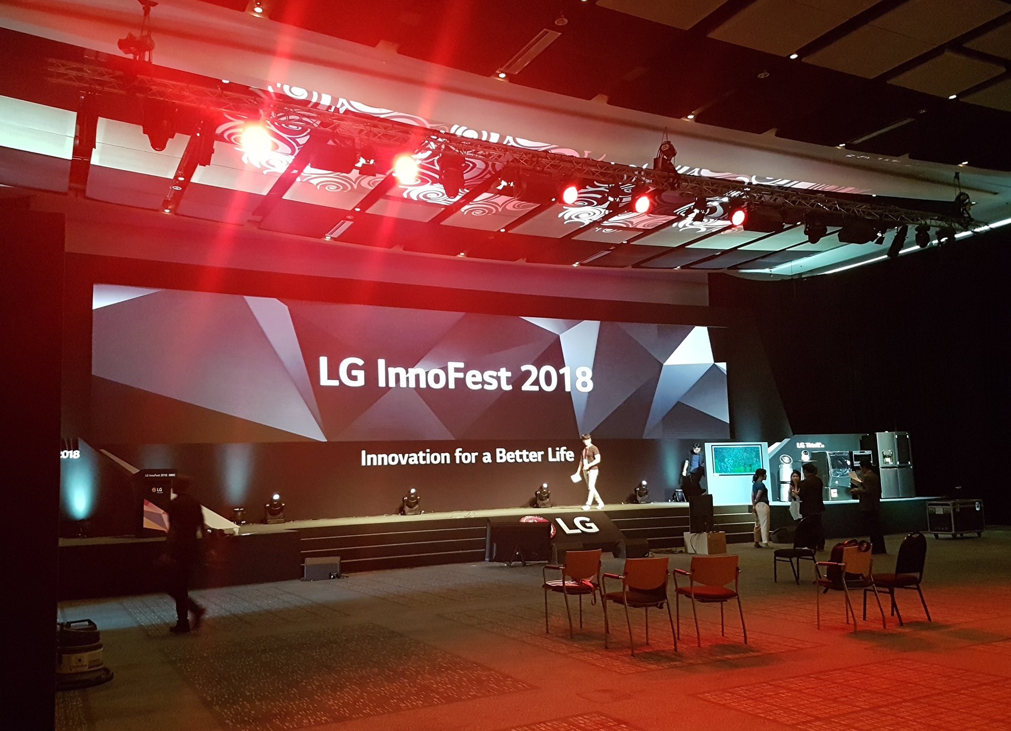 Folio provided the Arabic simultaneous interpreters for the LG InnoFest 2018 conference held at the CTICC in Cape Town.