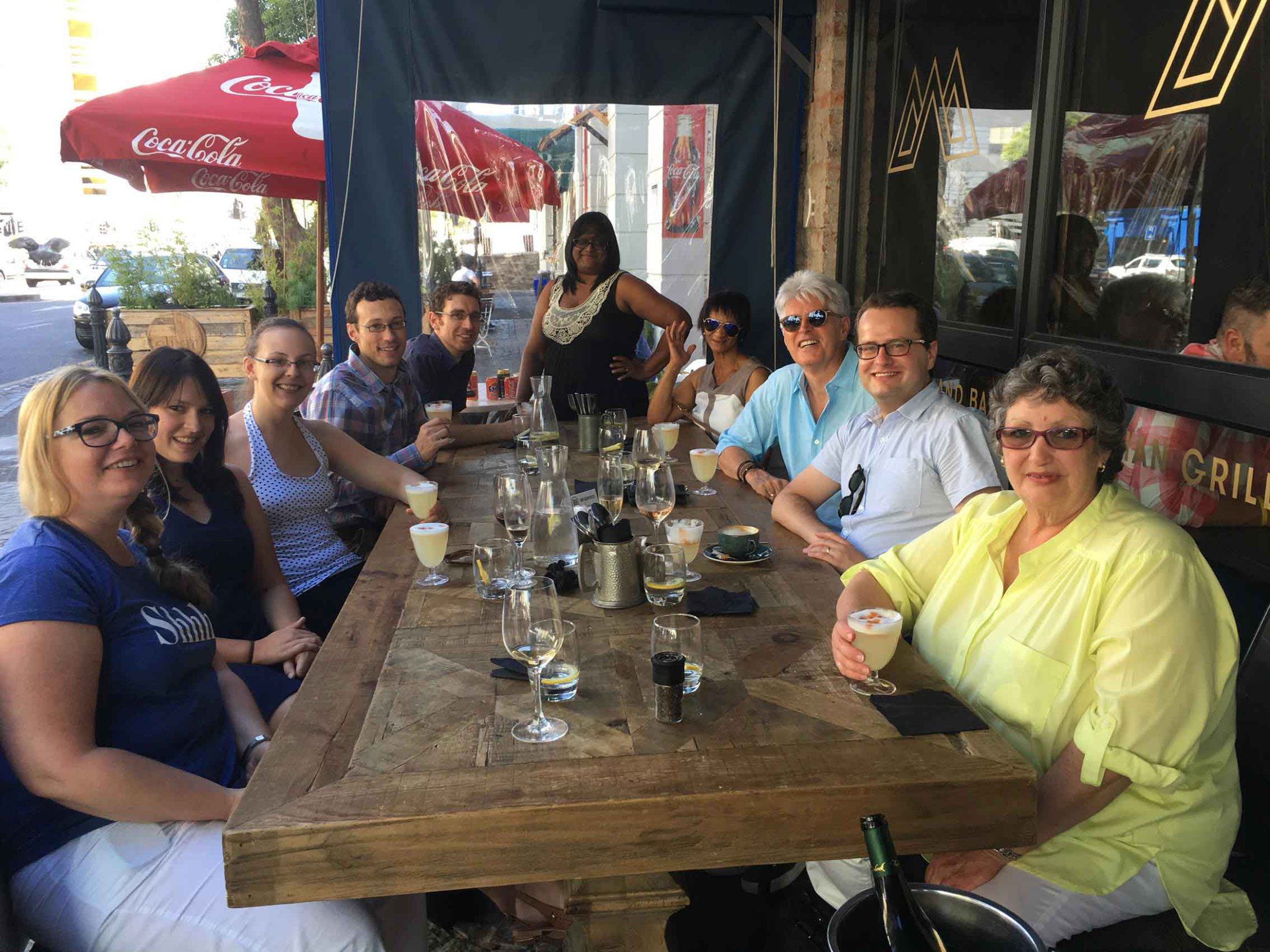 2016-01-29 Monica's birthday lunch at Charango, Cape Town.