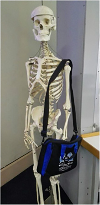Bag and Dr. Boney, Somerset Hospital, Cape Town, May 2015.