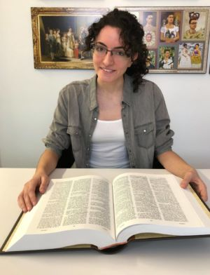 Raquel Sánchez Herrero, currently studying for a master's degree in New Technologies Applied to Translation, jointly organized by Ateneum University in Gdańsk, Poland and ISTRAD in Seville, Spain, is Folio's latest intern.