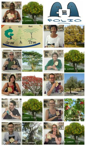 Treemendous Folio! Through Grow A Tree Folio staffers bought starter packs containing seeds of our favourite trees, potting soil and bags ready for planting. Stay tuned for growth reports.