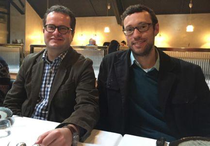 Johan & Henk. Philip's birthday at The Shortmarket Club, Cape Town, 14.08.2017