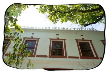 The first Afrikaans school at Dal Josafat, Paarl. 2015.10.16