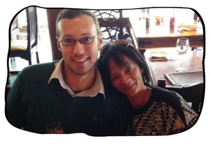 Henk & Anne, Bukhara, Cape Town, 21.05.15.