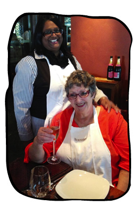 Janet & Monica, Bukhara, Cape Town, 21.05.15.
