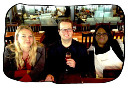 Laetitia, birthday boy Johan & Janet, Bukhara, Cape Town, 21.05.15