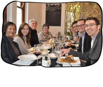 2012.07.26 Simon's birthday lunch, Roberto's Signature Restaurant, Cape Town.