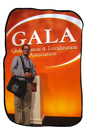 Johan and Bag at the GALA conference in Istanbul, March 2014.