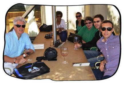 Team Folio lunch at Terroir, Kleine Zalze, 14 March 2014.