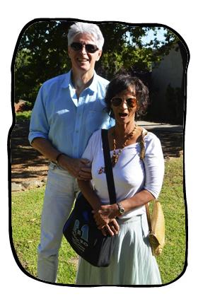 Philip, Anne & Bag. Kleine Zalze, 14 March 2014