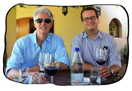 Philip & Johan, Terroir, Kleine Zalze, 14 March 2014.