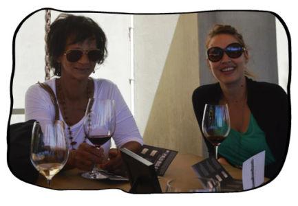 Anne & Lauri, Ernie Els Wines, 14 March 2014.