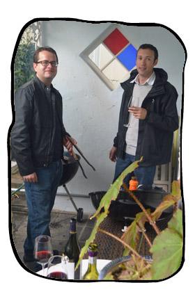 Top braaiers, Johan & Henk. 2014 05 09.