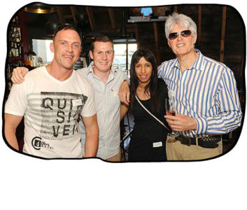 2012 12 11 Staff members, service providers & clients enjoying Folio's lively year-end party at Tjing Tjing Rooftop Bar, Cape Town.