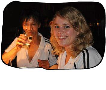 2012 12 14 Anne & Anja, Haiku, Cape Town.