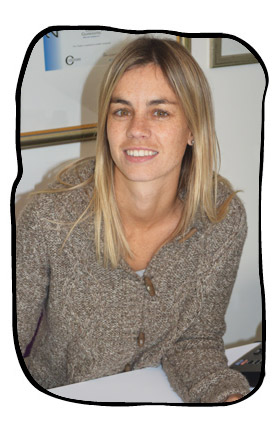 Elana Botha, one of many students from the Translation Studies Department at Stellenbosch University, doing her internship at Folio, June 2013.