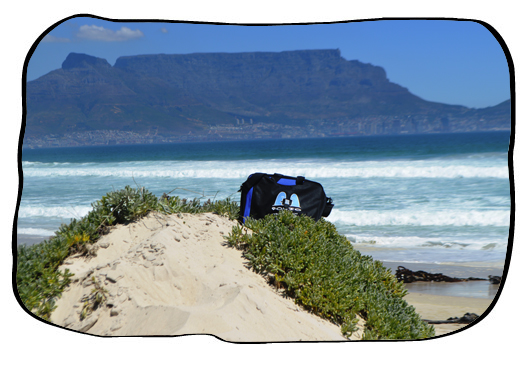 Bag and THE VIEW. 12 February 2014.