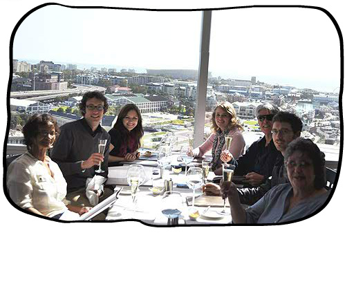 2012.08.13Celebrating Philip's birthday at the Westin Executive Club, Cape Town.