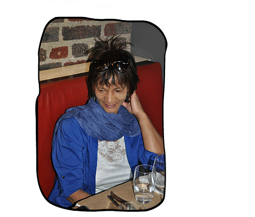 2012 09 07 What to order, that is the question. Anne, HQ, Cape Town.