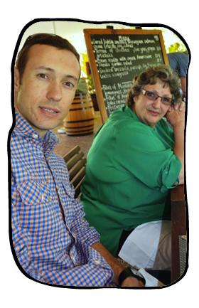 Henk & Monica, Terroir, Kleine Zalze, 14 March 2014.