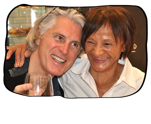 Ann and Philip sharing a merry moment.