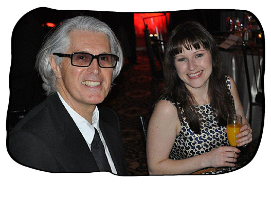 The 2011 Cape Chamber of Commerce and Industry Exporter of the Year Awards Ceremony. Philip and Marli in award-winning mood.