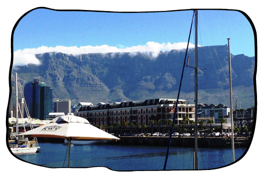 Beautiful Cape Town, from Mondiall, Waterfront. 2013 12 13