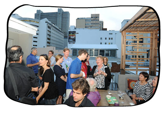 2011 Office Party. Tjing Tjing rooftop bar at Dear Me.