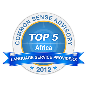 CSA Africa Language Award 2012