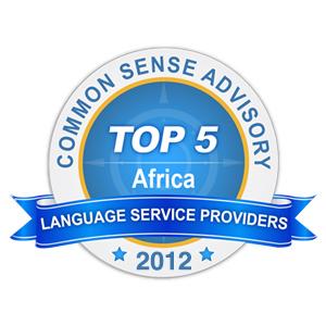 CSA Top 5 Award 2012