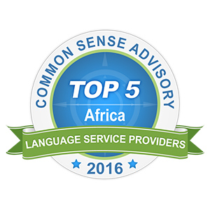 CSA Africa Language Award 2016 Top 5