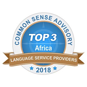 CSA Africa Language Award 2018 Top 3