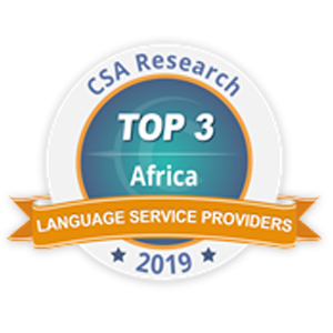 CSA Africa Language Award 2019 Top 3