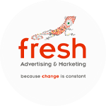Fresh Advertising Logo