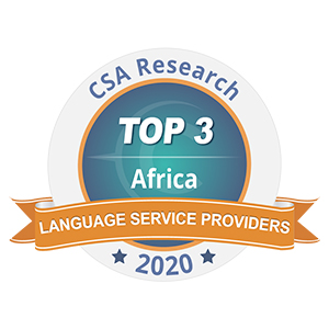 CSA Africa Language Award 2010