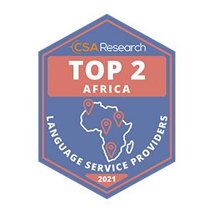 CSA Africa Language Award 2010